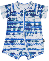 Bonds Baby Zip Wondersuit Sandy Romper, Blue/White