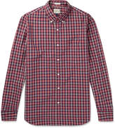 J.crew - Cooper Checked Washed-cotton Shirt