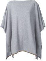 Agnona cashmere knitted cape
