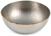 Thirstystone Old Hollywood Large Serving Bowl with Gold-Tone Rim