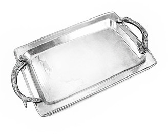 Beatriz Ball Western Antlers Large Rectangle Tray