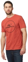 O'neill Orange Logo Print T-shirt