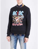 Gucci Ac/dc Printed Cotton-jersey Sweatshirt