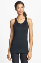 Nike 'Solid Long Stretch Distance' Dri-FIT Racerback Running Tank