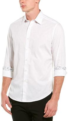 Robert Graham Hanging Gardens Woven Shirt
