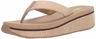 Volatile womens Thong Wedge Sandal