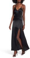 Leith Women's Satin Maxi Dress
