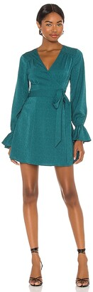 House Of Harlow x REVOLVE Mini Wrap Dress