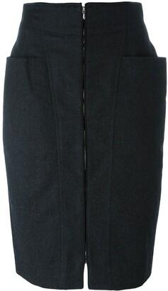 Gianfranco Ferré Pre-Owned Zipped Skirt