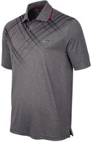 Greg Norman for Tasso Elba Plaid-Trimmed Golf Polo, Only at Macy's