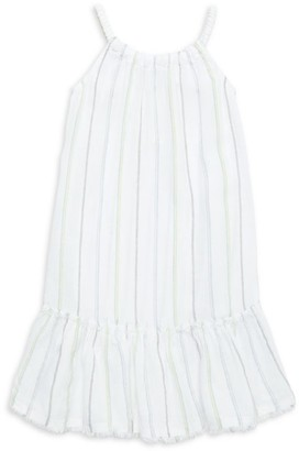 Bella Dahl Little Girl's & Girl's Frayed Ruffle Dress