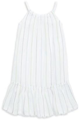 Bella Dahl Little Girl's & Girl's Frayed Ruffle Dress