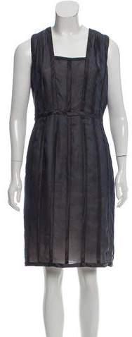 Akris Silk Cocktail Dress