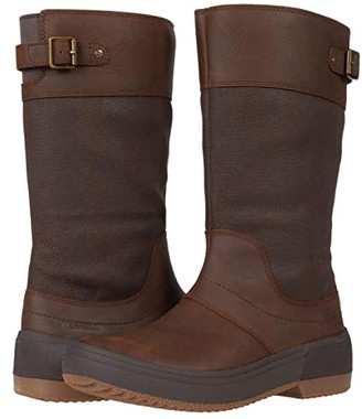 Merrell Haven Tall Buckle Waterproof (Oak) Women's Boots