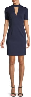 Trina Turk Cutout Mini Shift Dress