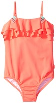 Seafolly Touci Frutti Ruffle Tank One-Piece Girl's Swimsuits One Piece