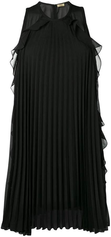 Liu Jo sleeveless pleated dress