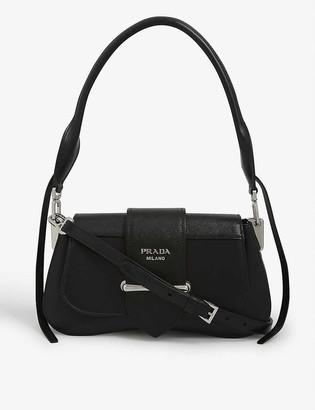 Prada Sidonie 28 leather shoulder bag
