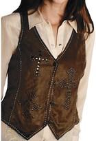 Roper Native Heritage Faux-Suede Vest (For Women)