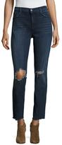 J Brand Distressed Knee Skinny Jean