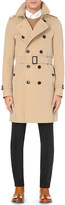 Burberry The Sandringham cotton-twill trench coat