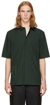 Helmut Lang Green Bar Tab Shirt
