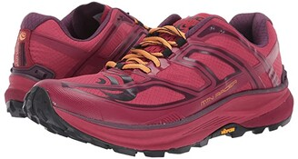 Topo Athletic Mountain Racer (Berry/Gold) Women's Shoes