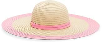 Draper James Colorblock Straw Sun Hat