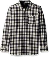 Volcom Men's Marcos Long Sleeve Flannel