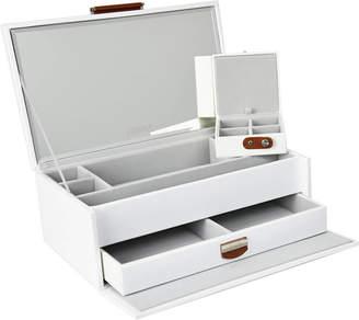 Dulwich Designs - Notting Hill Jewellery Box - White - Medium