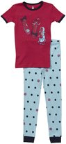 Petit Lem Ballet 2 Piece Set (Toddler/Kids) - Hot Pink-2