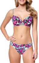 Jessica Simpson Botanica Keyhole Underwire Bikini Top