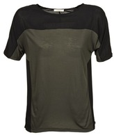 Lee COLOR BLOCK T KAKI / Black