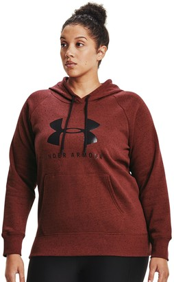 Under Armour Plus Size Rival Fleece Graphic Hoodie