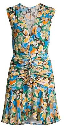 M Missoni Floral Mini Dress