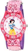 Disney Kids' W001950 Princess Analog Display Analog Quartz Watch