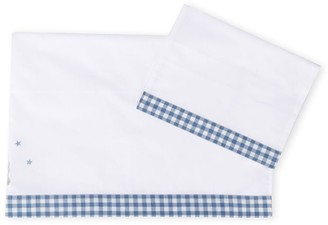 Il Gufo Gingham Print Blanket