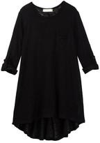 Soprano Long Sleeve Hi-Lo Knit Tunic (Big Girls)