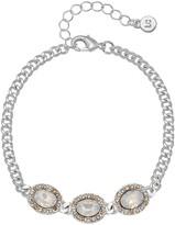 Lauren Conrad Simulated Crystal Haloed Chain Bracelet