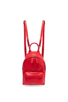 Givenchy Nano Leather Backpack - Red