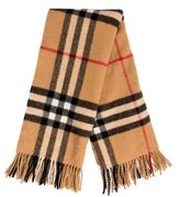 Burberry Lambswool Nova Check Scarf