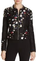 Elie Tahari Marta Embellished Jacket