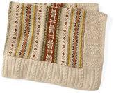 Ralph Lauren Fair Isle Cotton-Wool Blanket