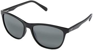 Maui Jim Sugar Cane (Gloss Black) Fashion Sunglasses