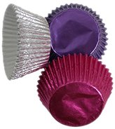 Scrumptious 51 x 38 mm Foil Coated Paper Mixed Hot Cupcake Cases