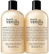 philosophy French Vanilla Bean Set Of Two