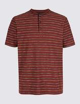 Marks and Spencer Pure Cotton Striped Top