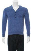 3.1 Phillip Lim V-Neck Half-Button Sweater