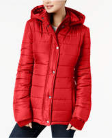 Rampage Juniors' Hooded Puffer Coat, A Macy's Exclusive
