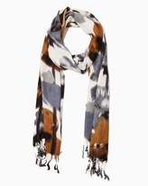 Charming charlie Floral Blur Scarf
